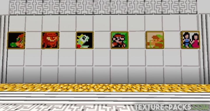 Super Mario in Minecraft