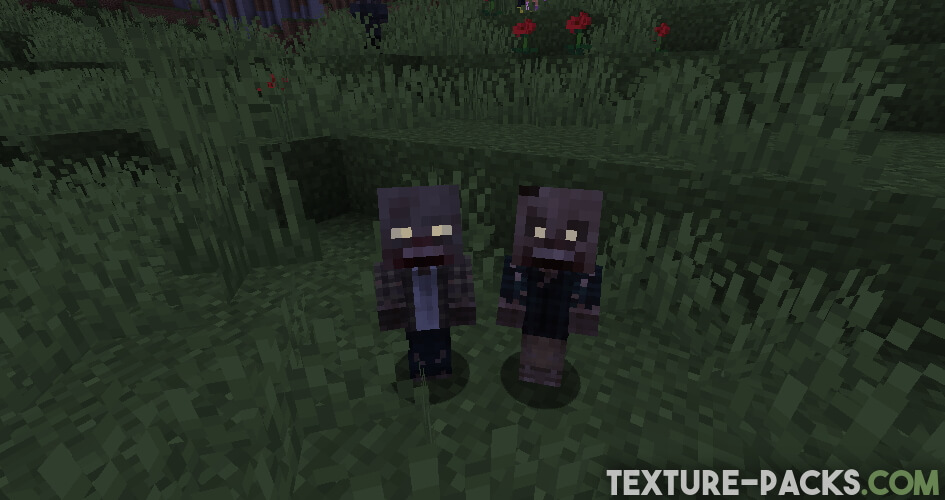 Tissou's Zombie Resource Pack for Minecraft