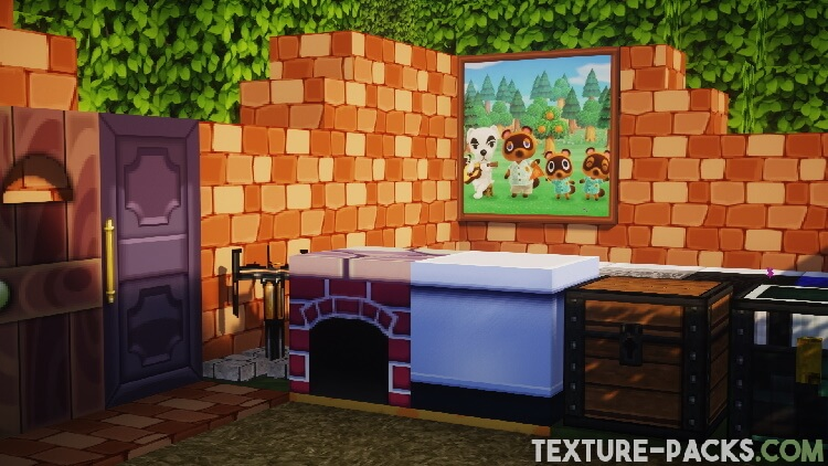 animal crossing texture pack images